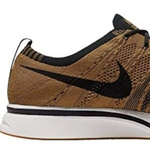 New Men's Nike Flyknit Trainer, Golden Beige,